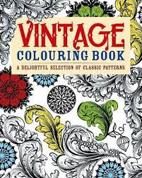 Vintage Colouring Book Arcturus Publishing 9781782122203