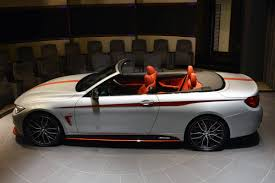 BMW Convertible bmw 435i coupe m performance : BMW 435i Convertible Gets Orange M Performance Kit, Akrapovic ...
