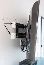 Wall Mounted Tv Frame Best 25 Tv Wall Mount Ideas On Pinterest Tv Mounting