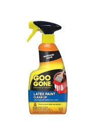 goo gone latex paint clean up