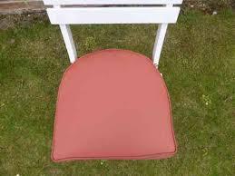 garden furniture cushions terracotta round back chair seat pad cushion 42x41x4