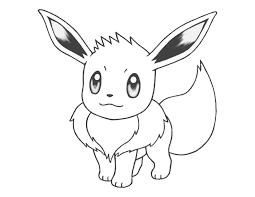 Pokemon Coloring Pages Eevee Csengerilawcom