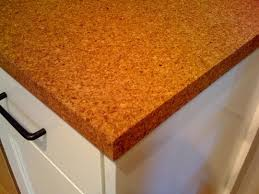 Cork is heat and moisture resistant, lightweight, and easy to handle and  refinish.