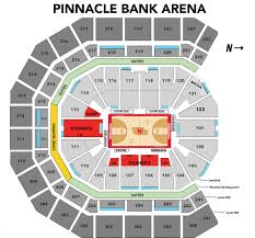 Legacy Arena Seating Chart Basketball Mens Basketball Arena Maps University Of Nebraska