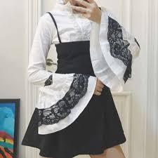 Online Shop <b>Women Gothic</b> Lolita Princess <b>Blouses</b> 2019 New Fall ...