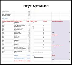 Budget Spreadsheets How Do You Do Yours
