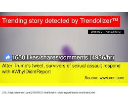 After Trump's tweet, survivors of sexual assault respond with ...