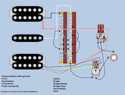 hsh wiring help the only drawback is that when one humbucker is split the other is as well the only other alternative is to wire it so either the neck or the bridge are