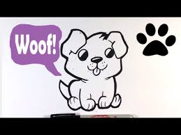 cute dogs drawings step by step. Beautiful Dogs Intended Cute Dogs Drawings Step By