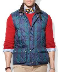 Lyst - Ralph lauren Polo Quilted Vest in Blue for Men & Gallery Adamdwight.com