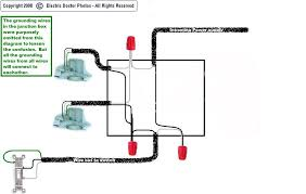wiring diagram 1 light 2 switches Economy 7 Meter Wiring Diagram i want to wire 2 lights to 1 switch in the junction box i Residential Electrical Meter Wiring Diagram