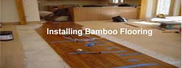 How to install bamboo flooring Basement Installing Installing Installing Bamboo Flooring