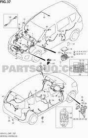 37 wiring harness ertiga avi414 avi414 p06 p85 suzuki genuine parts catalogs
