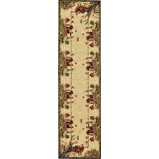 barnyard cream 2 7 x 10 39 runner rug