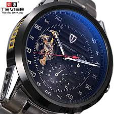 Online Shop <b>mens watches top</b> brand luxury <b>TEVISE</b> Automatic ...
