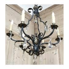 antique wrought iron chandelier fascinating wrought iron and crystal chandelier wrought iron light fixtures iron chandelier