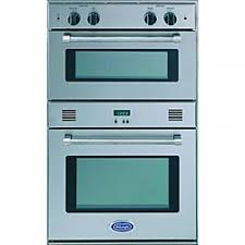24 inch double gas wall oven for