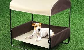 Outdoor Dog Bed With Canopy Portable Pet Bed With Canopy Goods ...