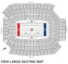 Metlife Stadium Seating Chart Football