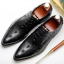 2019 Handmade Shoes Italian Designer <b>Genuine Leather Formal</b> ...