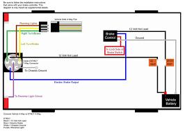 7 flat trailer wiring diagram wirdig wiring diagram of brake controller installation