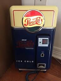 Pepsi Cola Vending Machines Old Custom VINTAGE PEPSICOLA VENDING Machine Telephone New Tested