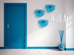 viz art glass mesmerizing blue viz glass wall art three adorned sculptures transpa door porcelain striped viz art glass