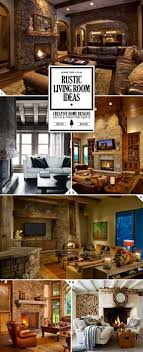 Rustic Living Room Best 20 Rustic Living Rooms Ideas On Pinterest Rustic Room