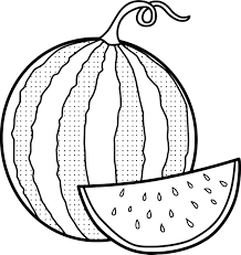 Small Picture Great Watermelon Coloring Page 19 9490