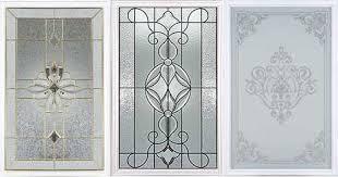 michigan glass entry doors inserts