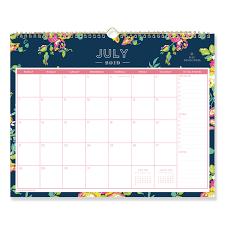 Day Designer Academic 2019 Day Designer Academic Year Wall Calendar 15 X 12 Navy