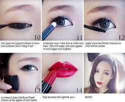 kara damaged lady goo hara inspired makeup tutorial love the eyes make up tutorials