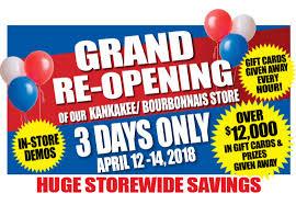 kankakee bourbonnais grand re opening celebration blain s farm fleet
