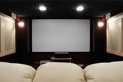budget home theater room. budget home theater room