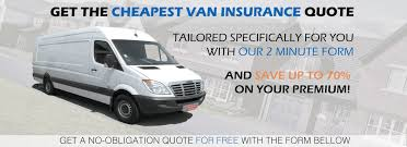 van insurance quote within minutes