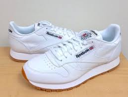 reebok classic cl lthr mens style 49797 white gum multiple sizes nwb 8 for