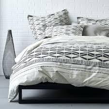 black duvet covers regarding inspire organic percale duvet cover sham this southwestern inspired bedding with an black duvet covers