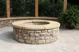 stone fire pit ideas. Stacked Stone Fire Pit Best Of Ideas