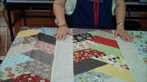 Friendship Braid Quilt Idea Using Half Hex Ruler - YouTube &  Adamdwight.com