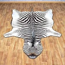 blue zebra rug printed light real skin rugs for south africa ideally suited for contemporary