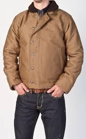 1944 N1 Deck Jacket Waxed Khaki Pike Brothers 1944 N1 Deck
