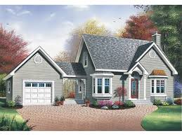 image of image house plans with breezeway and attached garage