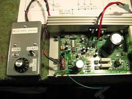 mc 2100 treadmill motor speed control circuit