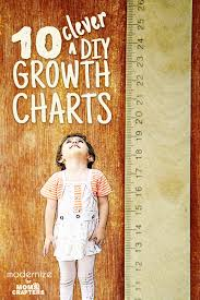 Diy Height Chart 10 Clever Diy Growth Charts Moms And Crafters