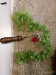 rag rug hook tool new for use with wool ribbon and fabric small hook