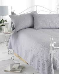 Grey Reversible Embossed Quilted Bedspread, Parisienne, Includes 2 ... & Grey Reversible Embossed Quilted Bedspread, Parisienne, Includes 2  Pillowshams, 240cm x 260cm, Double/King by Ideal Textiles: Amazon.co.uk:  Kitchen & Home Adamdwight.com