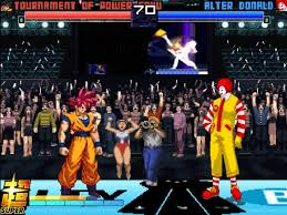 ultimate fighting game crossover