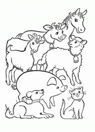 Small Picture Coloring Pages Of Barn Animals Coloring Pages