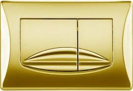 Купить <b>Смывная клавиша OLI River</b> Dual золотой 638508 по цене ...