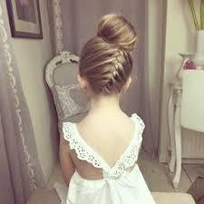 42 Beau Collection De Coiffure Mariage Pour Petite Fille